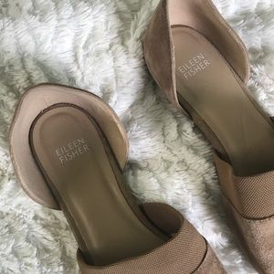 Eileen Fisher Shoes - Eileen Fisher Flute pointed SuedeD'Orsay F…
